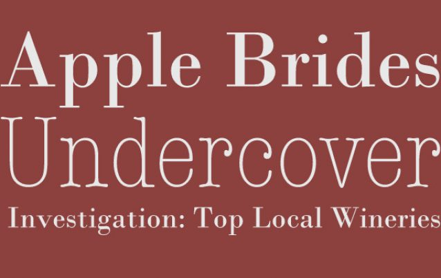 Undercover:  Local Wineries